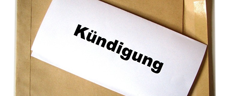 Kündigung per Brief